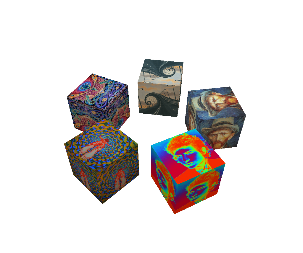 ART Cubes animated