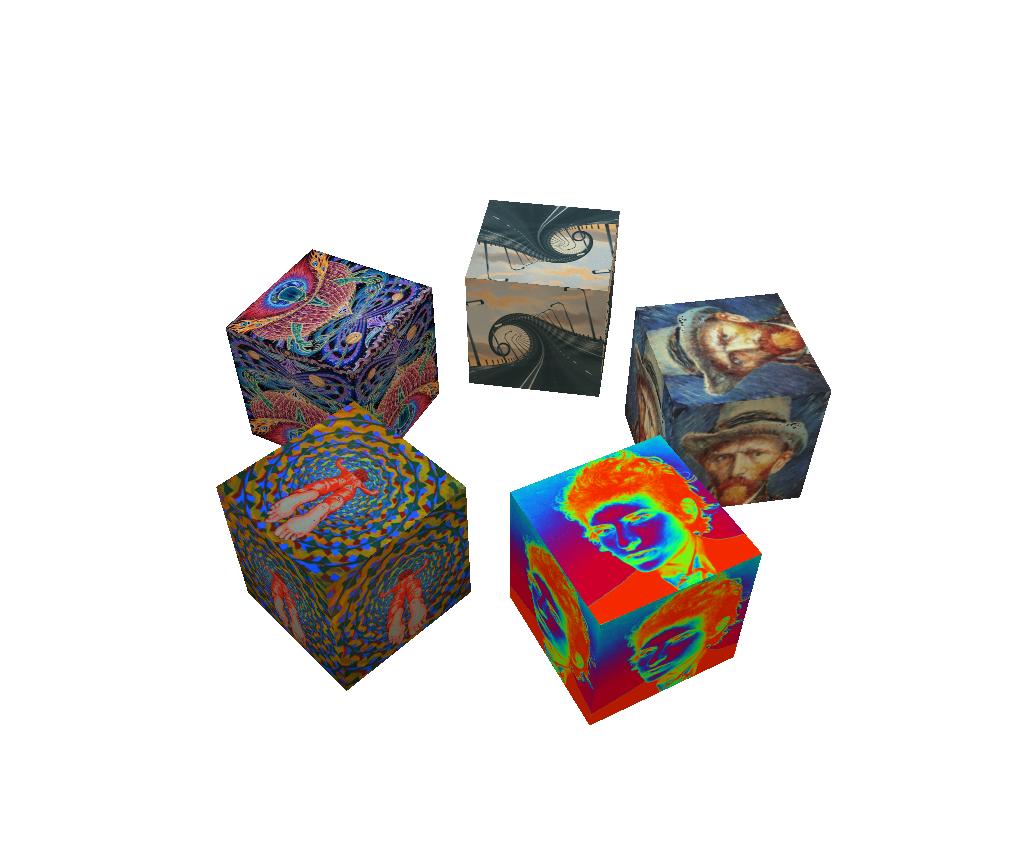 ART Cubes animated